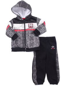 Find KNIT PRINT HOODY & JOGGER SET (2T-4T) Boys Sets from Enyce & more at DrJays. on Drjays.com