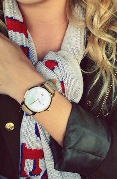 Gold Pearl Leather x MVMT Watches Click image to purchase