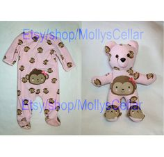 Keepsake bear memory bear keepsake teddy clothing by MollysCellar