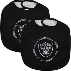 Oakland Raiders NFL 2-Pack Bibs