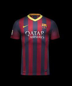 Nike 2013-14 Barcelona Home Jersey...$89.99