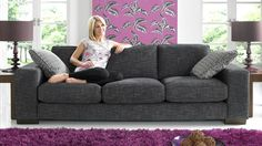 Linea Fabric Sofa Range | Sofology