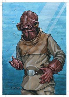 Mon Calamari by Chris Trevas
