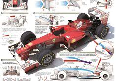 """Segundo """"Marca"""", este seria o novo visual do carro da Ferrari (Foto: Reprodução/Marca)"""