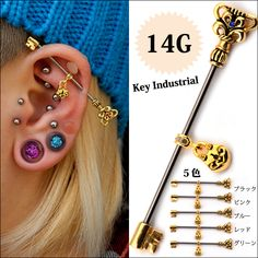 Vertical Tragus, Industrial Piercing, Nail Accessories, Conch, Body Jewelry, Bobby Pins, Body Art, Piercings, Nails