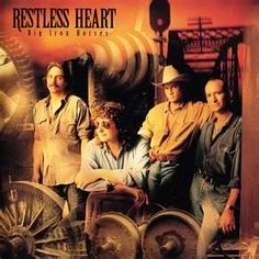Restless Heart - Big Iron Horses(album after Larry Stuart left the band). Heart Concert, Restless Heart, Cd Cover Art, Classic Album Covers, Country Bands, Country Music Artists, Cd Album, Music Albums, Greatest Songs