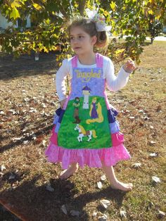 Custom Boutique Disney Princess Tangled by hardworkingmommys, $110.00
