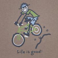 dd94f2ef6e3 Life is good. LOVE mountain biking - wish they had a girl on the bike  instead. Hint Hint.  Lifeisgood  Dowhatyoulike