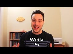 Learn Italian - Common Expressions | Greetings & Salutations - YouTube