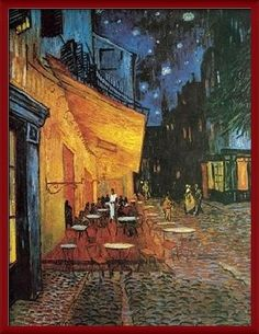 Cafe Terrace at Night - Vincent van Gogh. My other absolute favorite van Gogh piece. Vincent Van Gogh, Framed Art Prints, Painting Prints, Canvas Prints, Van Gogh Arte, Van Gogh Pinturas, Van Gogh Paintings, Landscape Walls, Urban Landscape