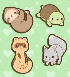 Kawaii Endangered Animals by A-Little-Kitty on deviantART