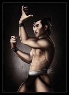 Shiang from mulan in princes gone wild by david kawena