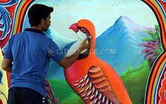 Image result for pakistan art Pakistan Art, Image, Painting, Painting Art, Paintings, Painted Canvas, Drawings