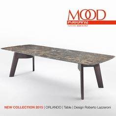 FLEXFORM MOOD ORLANDO #table designed by Roberto Lazzeroni. Find out more on www.flexform.it