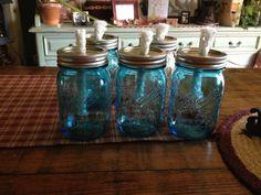 Citronella mason jars(The Gilbert Homestead) :-)sg
