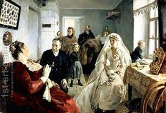 Illarion Mikhailovich Prianishnikov:Before the Wedding, 1880s