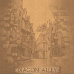 Wizard World London: Entering Diagon 12 x 12 Paper