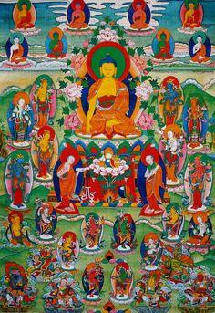 #Buddhism · Dhammapada - Translation of Dharma Verses With the #Tibetan Text Tibetan Buddhism, Buddhist Art, Buddhist Wheel Of Life, Thai Buddha Statue, 17th Century Art, Old Cemeteries, Angel Statues, Luxor Egypt, British Museum