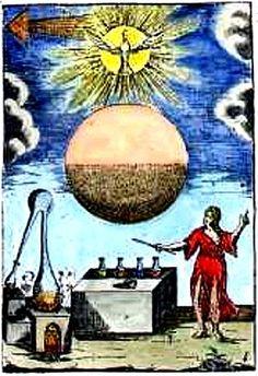 Alchemy:  Alchemy in America. An #Alchemy artwork.