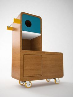 quackie storage furniture for kids by E-GLUE Studio at Coroflot.com
