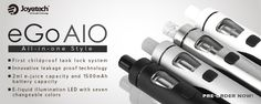 Joyetech eGo AIO Kit all-in-one Device for daily vaping