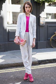 Mega obsessed with this @Lori Bennett trouser suit http://www.ella-lapetiteanglaise.com