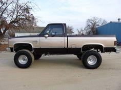 1984 Chevy Silverado 1/2ton 4x4 Lifted