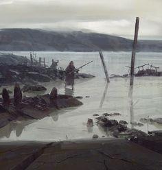 ArtStation - hunting, Yun Ling