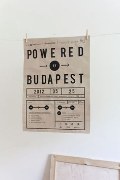 Powered by Budapest on Behance