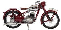 — Мотоцикл Jawa-3501950 г.