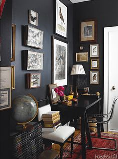 Black wall decor