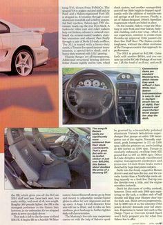 """""""Saleen R"""", Motor Trend, April 1996 Ford 351, Saleen Mustang, Pop Out, The Old Days, Fuel Injection, Mustangs, 1990s, Pop Culture, It Cast"""
