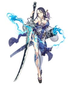View an image titled 'Princess Kaguya, Breaker Job Art' in our SINoALICE art gallery featuring official character designs, concept art, and promo pictures.