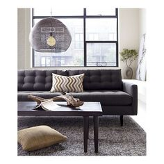 favorite sofa of all time  Crate and Barrell - Petrie Sofa