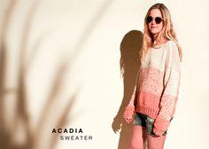 Acadia Sweater - The Blog - US/UK