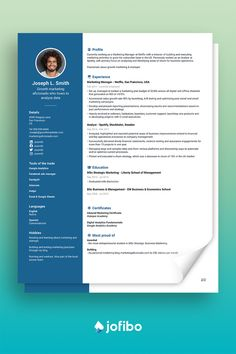 Go with a creative resume template if you work within the fields of marketing, graphic design or similar. Your resume should ooze creativity and imagination #cv #cvtemplate #cvtemplates Creative Cv Template, Google Analytics, Stockholm Sweden, Marketing Plan, Business Management, Ads, How To Plan, Education, Onderwijs