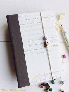 papierZART : Gedankensammler, eingebundenes Buch, Notizbuch, personalisiertes Buch, Buch, Buchleinen, Designpapier, Alexandra Renke, Erlebniswelt, papierZART