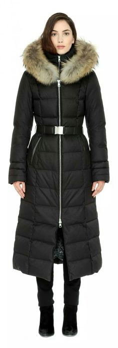 Sonia & Kyo MARIANA-F Brushed down coat with removable fur