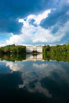 Schloss Leopoldskron, Salzburg,Austria... The backyard for the Sound of Music set