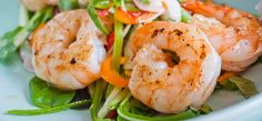 Tiger Prawn Recipe With A Thai Sauce - Walter Purkis and Sons Thai Dishes, Dinner Dishes, Fish Dishes, Prawn Recipes, Asian Recipes, Tiger Prawn Recipe, Prawn Starters, Fish Tagine, Dinner Party Starters