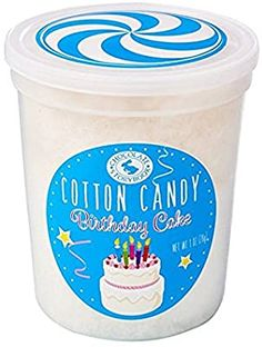 Birthday Cake Gourmet Flavored Cotton Candy – Unique Idea for Holidays, Birthdays, Gag Gifts, Party Favors Gag Gifts, Food Gifts, Bad Room Ideas, Cotton Candy Flavoring, Candyland, Happy Thoughts, Gourmet Recipes, Party Favors, Birthdays