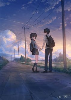 /r/Moescape is a place to post all of your favorite artworks and screen caps of cute Anime characters in their environment. Anime Cupples, Chica Anime Manga, Anime Couples Manga, Cute Anime Couples, Cool Anime Girl, Cute Anime Pics, Anime Art Girl, Anime Girls, Cute Couple Art