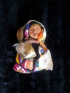 Montse R & B Mabon's doll. I made this for my Mabon altar, it's filled with mabon herbs and smells really good.