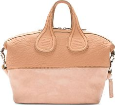 1b3fee7d3650 Givenchy - Clay Pink Paneled Leather Small Nightingale Shoulder Bag
