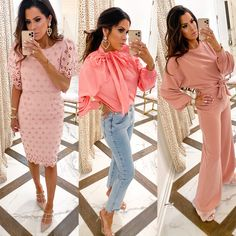 20 Easy To Re-Create Cute Travel Outfits ✈️ Pink Outfits, Mom Outfits, Easy Outfits, Fall Fashion Outfits, Autumn Fashion, Womens Fashion, Valentine's Day Outfit, Outfit Of The Day, Outfit Ideas