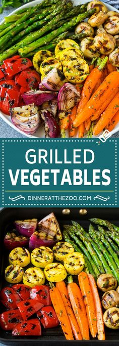 dinneratthezoo cleaneating vegetables glutenfree marinated grilling grilled veggies lowcarb healthy recipe dinner keto Grilled Vegetables Recipe Marinated Vegetables Grilled VeggiesYou can find Vegetables recipes and more on our website Grilled Vegetable Recipes, Marinated Vegetables, Grilled Veggies, Vegetarian Recipes, Cooking Recipes, Healthy Recipes, Vegetables On The Grill, Carrot Recipes, Avocado Recipes