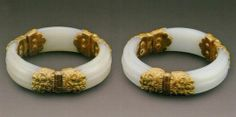 Tang Dynasty White Jade Bracelets CHINESE ANTIQUES AND ART : More At FOSTERGINGER @ Pinterest