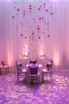 This kind of lighting might be fun for the dancing: Lighting  Cinematography: The EVENT Company - eventcompanyoc.com Photography: Joseph Martinez Photography - Joseph-Martinez.com Catering: 24 Carrots - 24carrots.com Floral  Event Design: Inviting Occasion - invitingoccasion.com  Read More: http://www.stylemepretty.com/little-black-book-blog/2011/09/28/hotel-seven4one-wedding-from-the-event-company-joseph-martinez/