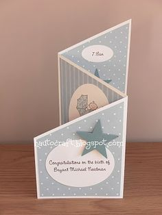Love this card fold! #tutorial