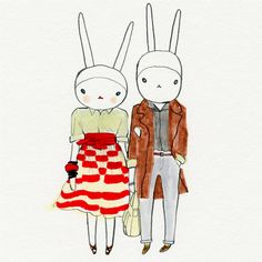 Fifi Lapin and Sonny in Marc by Marc Jacobs